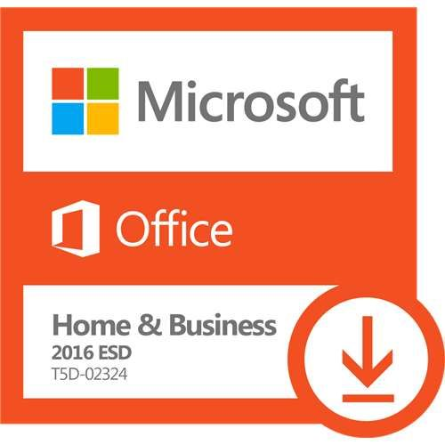 Microsoft Office Home & Business 2016 Esd Fpp T5D-02324 – Digital Download