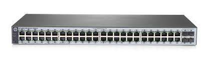 Switch HP 1820-48G J9981A 48 portas Gigabit + 4 SFP