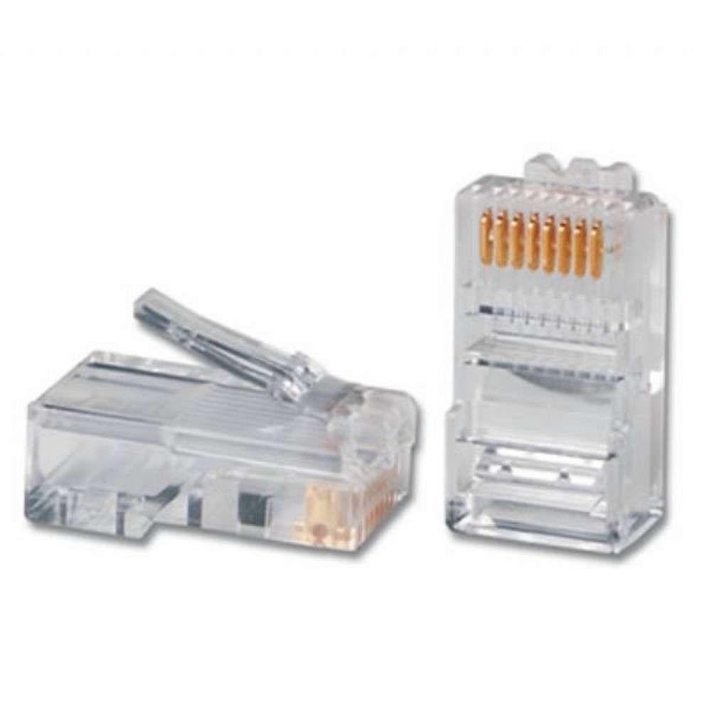 Conector RJ45 CAT5 Pacote com 100 Unidades