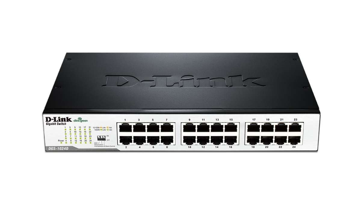 Switch D-Link DES-1024D 24 Ports 10/100Mbps