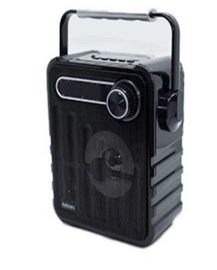 Caixa De Som Bluetooth Exbom Alça 5w Cs-m17bt Led Fm Usb