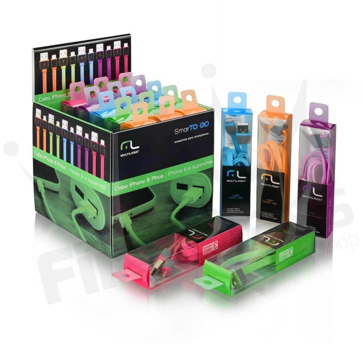 Cabo Micro USB 5 Pinos SmartTogo Multilaser WI298