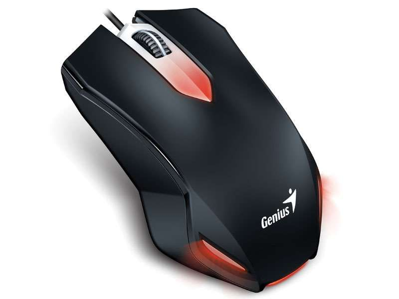 Mouse Gamer Genius X-G200 1000Dpi Preto