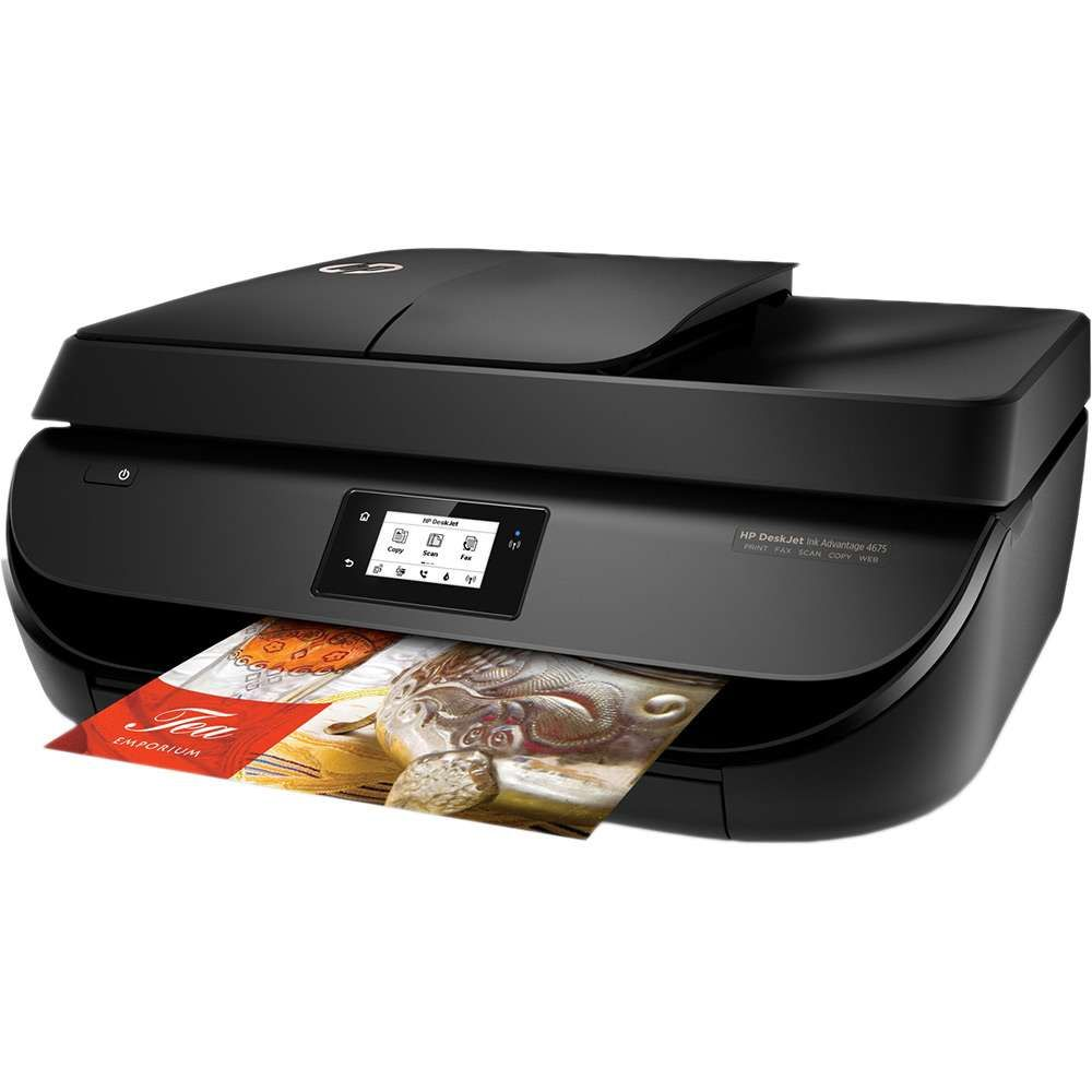 Impressora multifuncional HP DeskJet Ink Advantage 4676 Wifi (F1H98A)