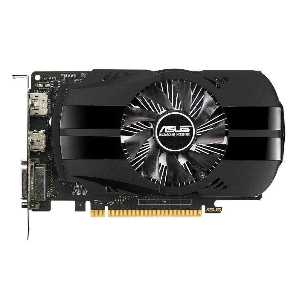Placa de Vídeo Asus GeForce GTX 1050 2GB DDR5 128 Bits 1455Mhz - 90YV0AA0-M0NA00