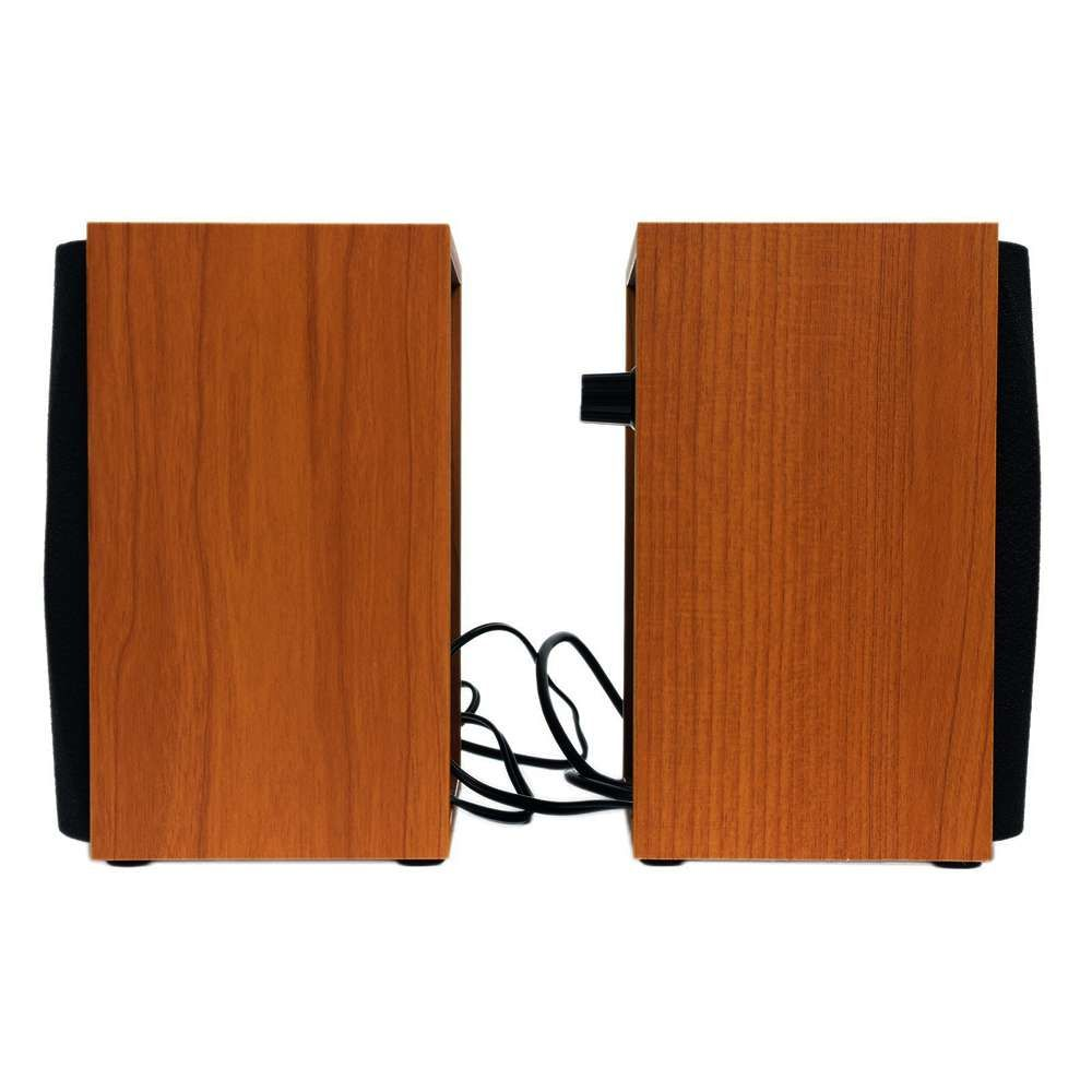Caixa de Som 2.0 CH Genius SP-HF160 4W RMS USB Madeira