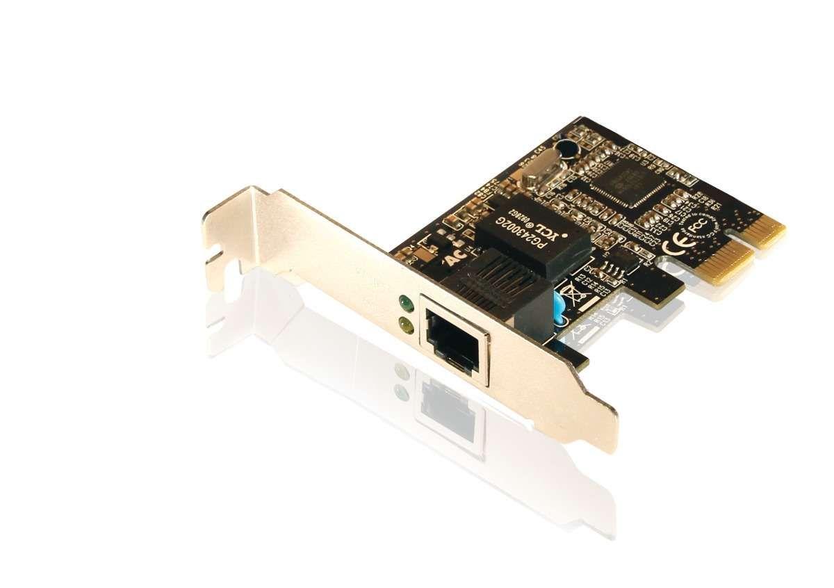 Placa de Rede PCI-E DEX Realtek 811C/D 10/100/1000 Mbps
