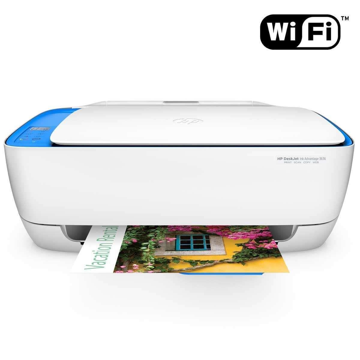 Impressora Multifuncional HP DeskJet Advantage 3636-F5S45A