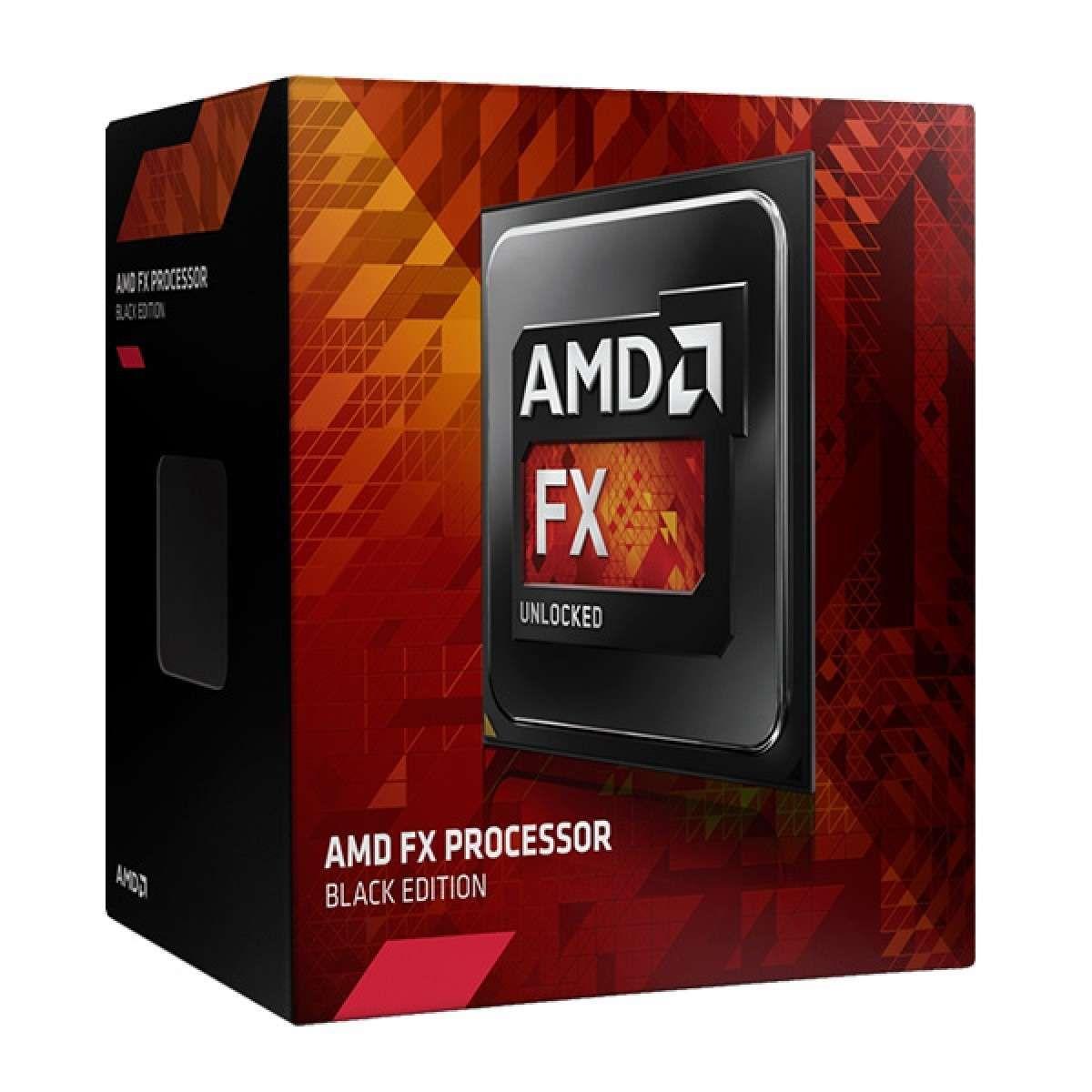 Processador AMD FX-6300, Black Edition, Cache 14MB, 3.5GHz, AM3+ FD6300WMHKBOX