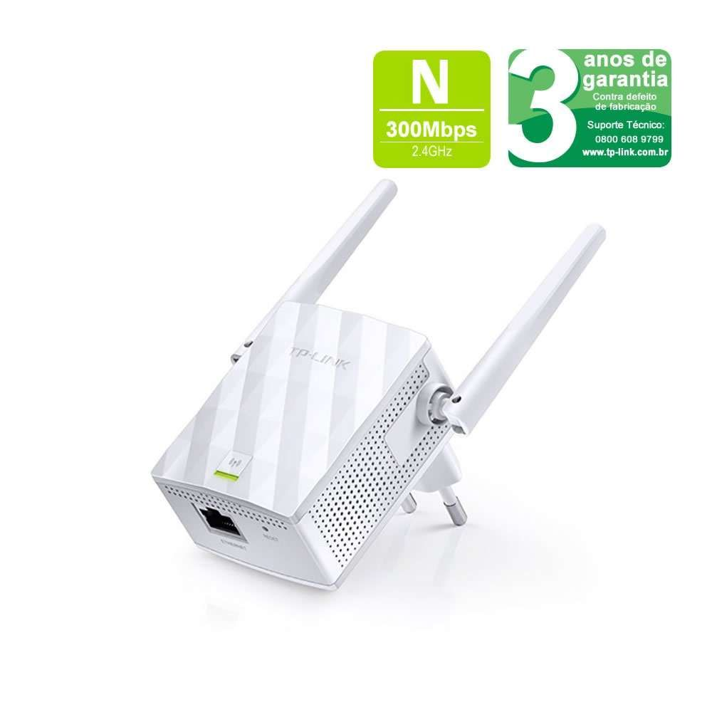Repetidor Expansor TP-Link Wi-Fi Network 300Mbps TL-WA855RE