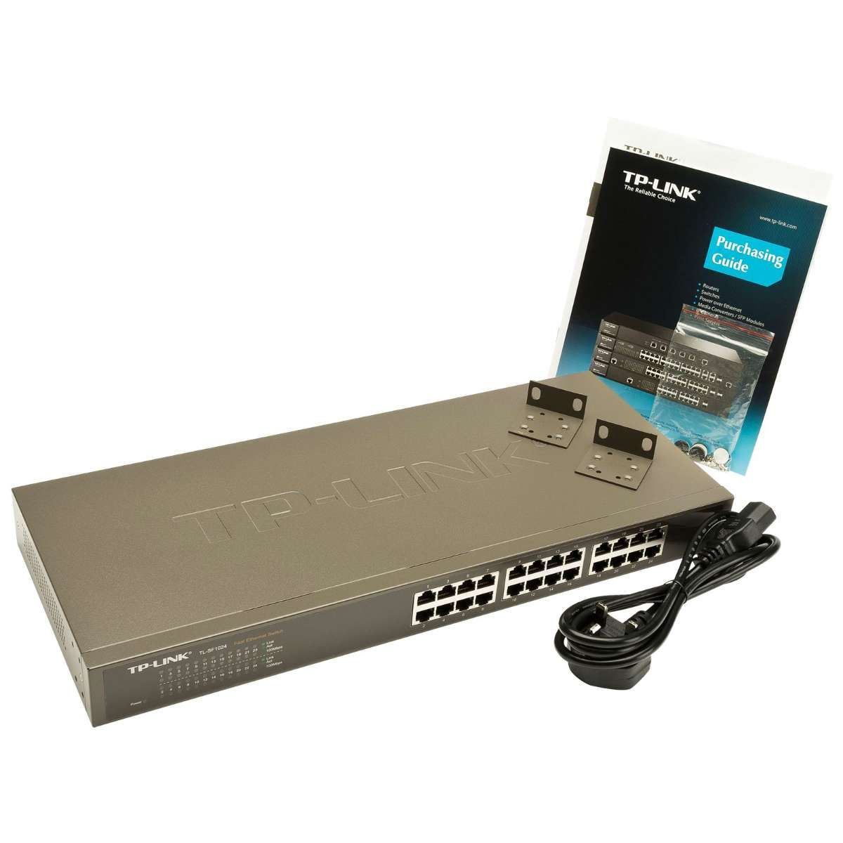 Switch 24 Portas TP-Link 10/100 Rack - TL-SF1024