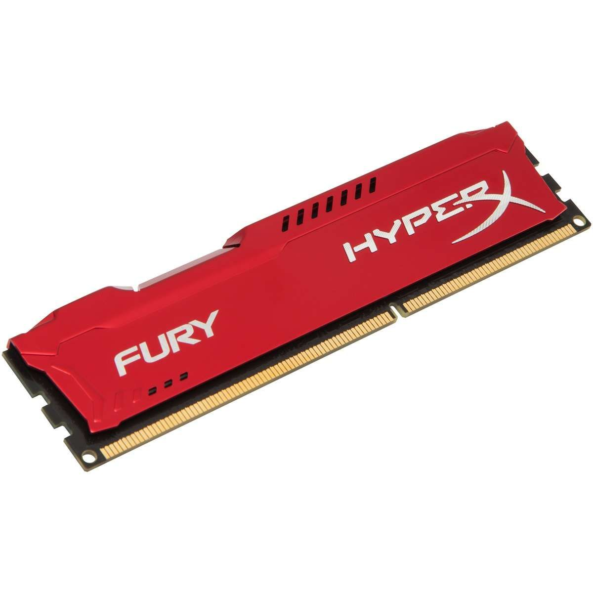 Memória Kingston HyperX FURY DDR3 8GB 1866Mhz CL10 Red Series - HX318C10FR/8