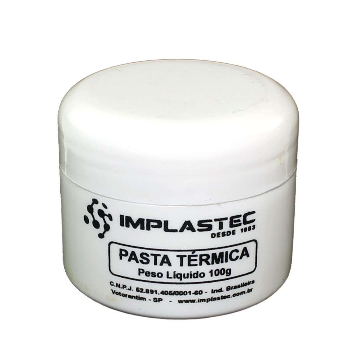 Pasta Térmica Implastec 100G Pote