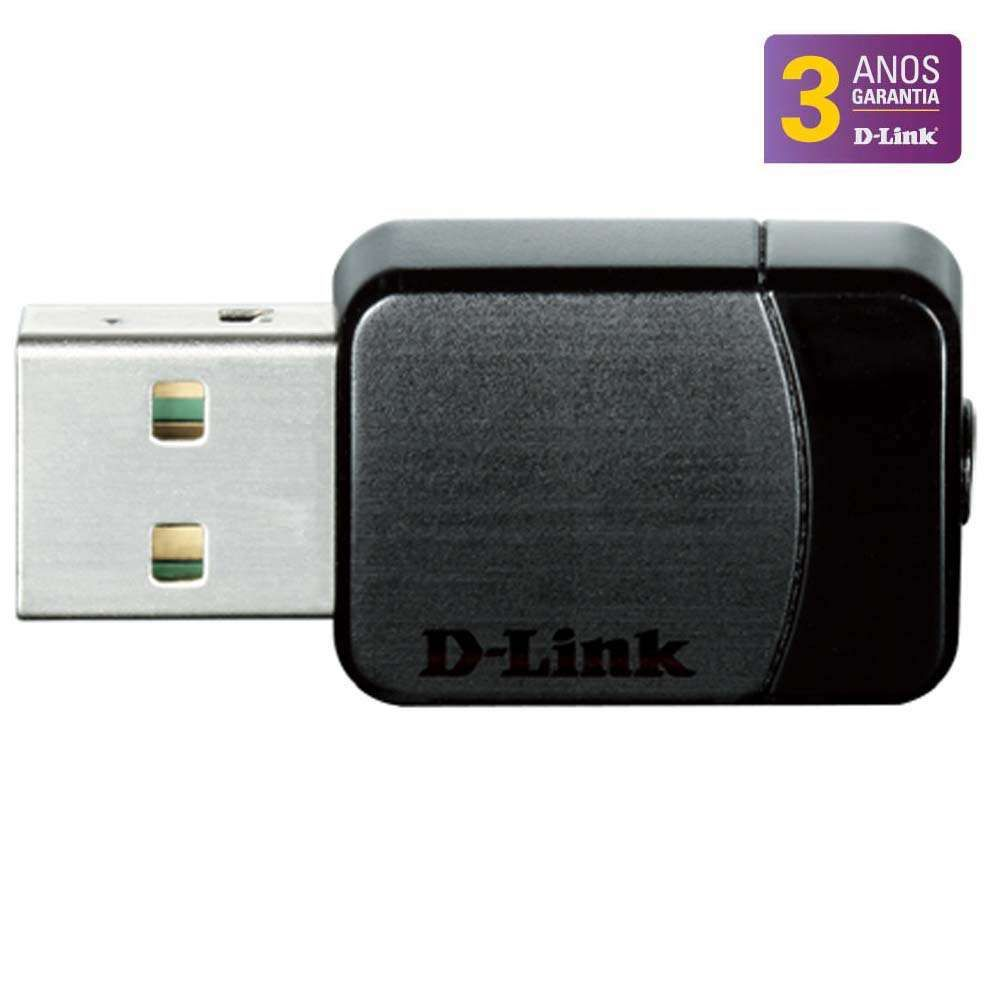 Adaptador 11AC D-Link Nano Wireless Dual-Band USB DWA-171
