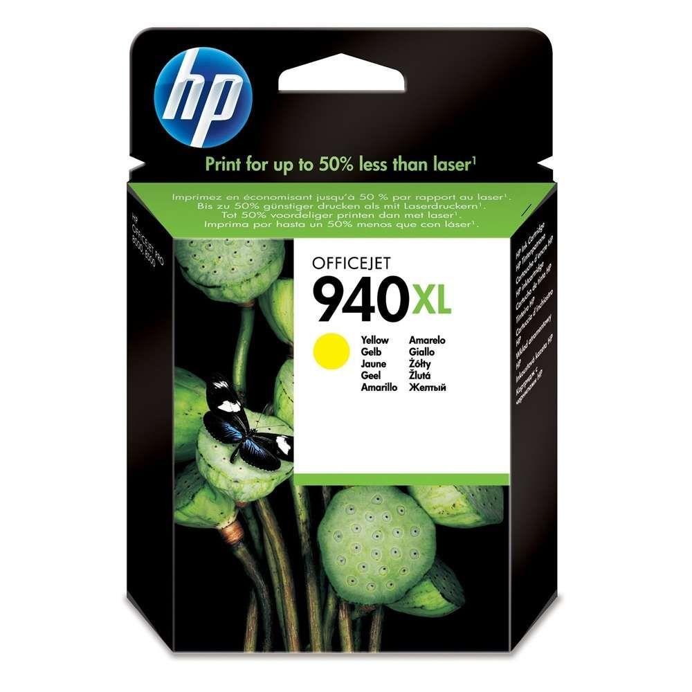 Cartucho de Tinta HP 940XL C4909AB Amarelo 19 ml