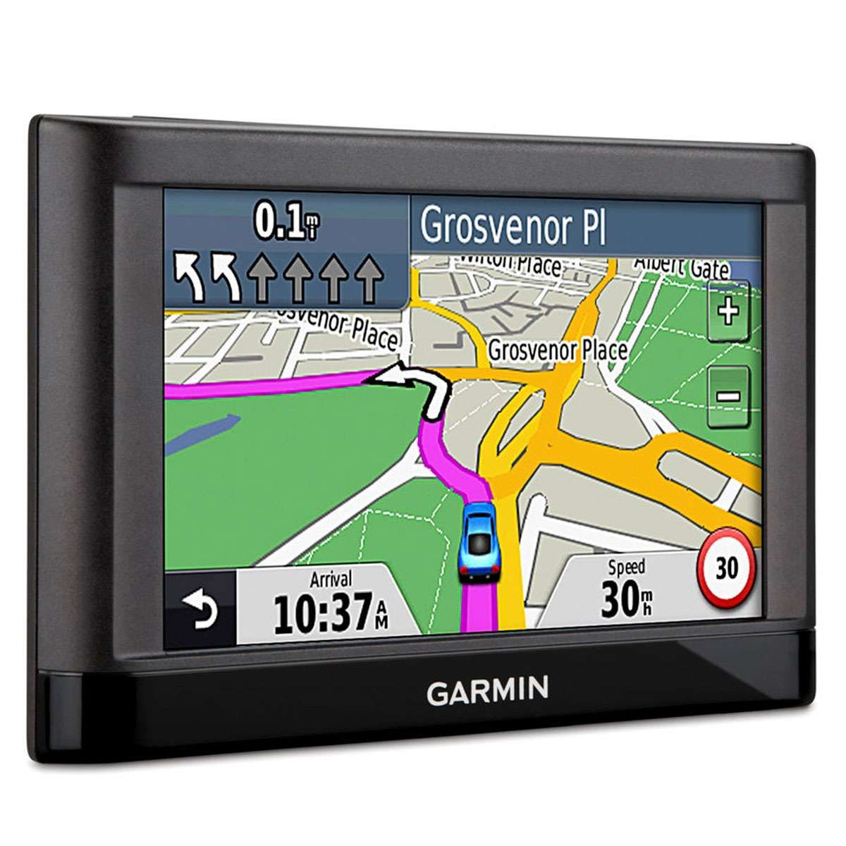 "Navegador GPS Garmin nüvi 42LM com Tela Touch Screen 4.3"""