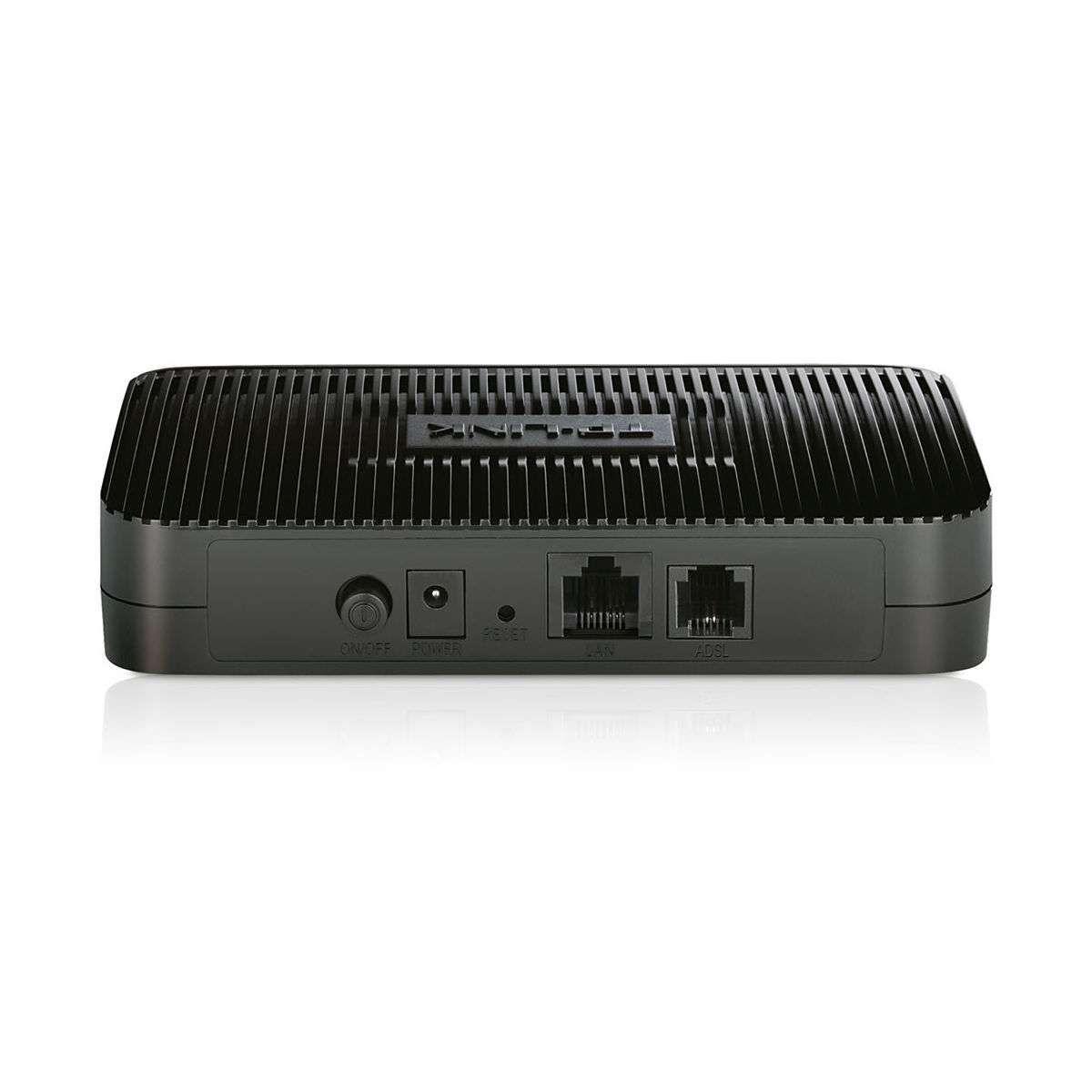 Modem Roteador ADSL2+ Ready Preto TP-Link TD-8816