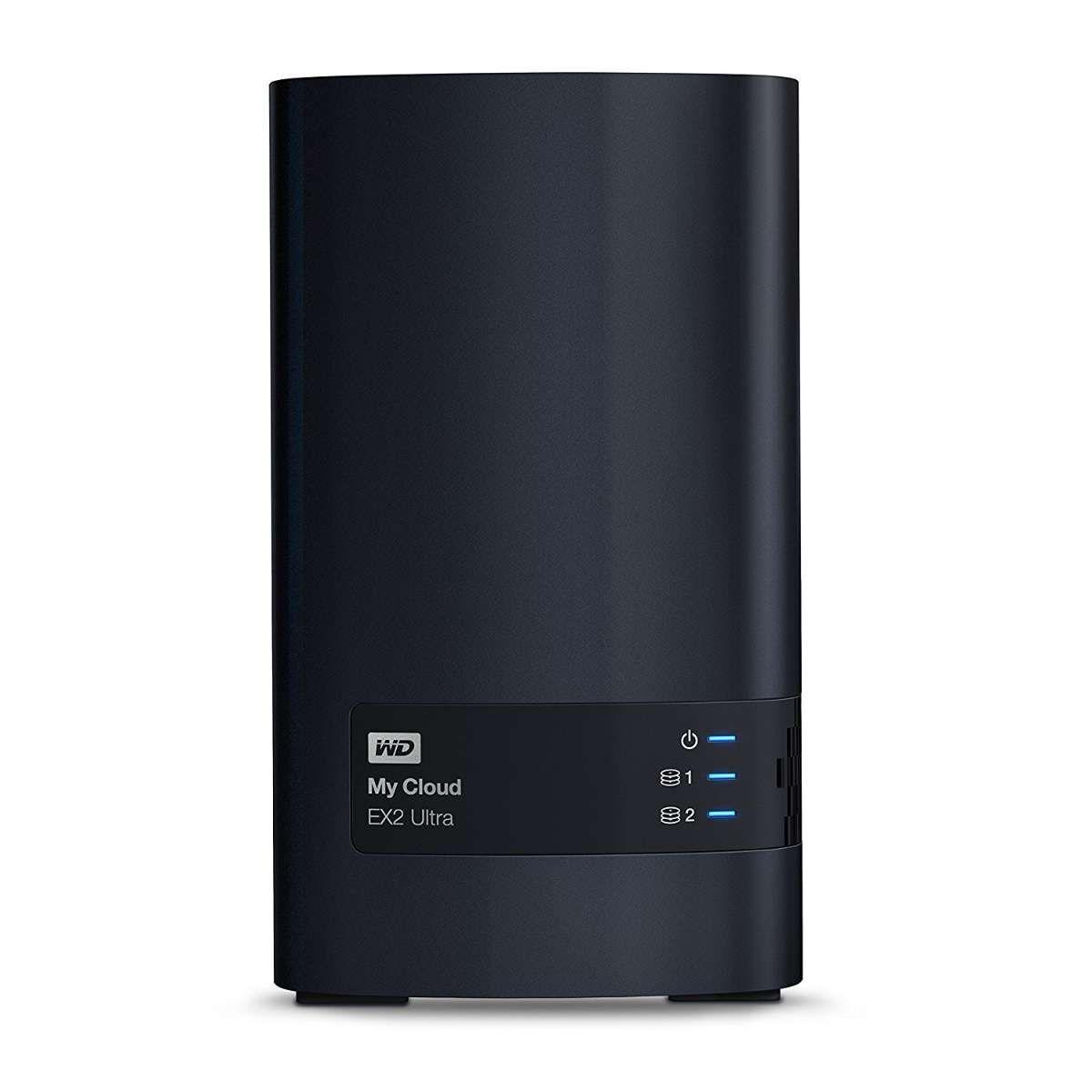Storage WD NAS MY CLOUD EX2 2-Bay Sem Disco - WDBVBZ0000CH-NESN