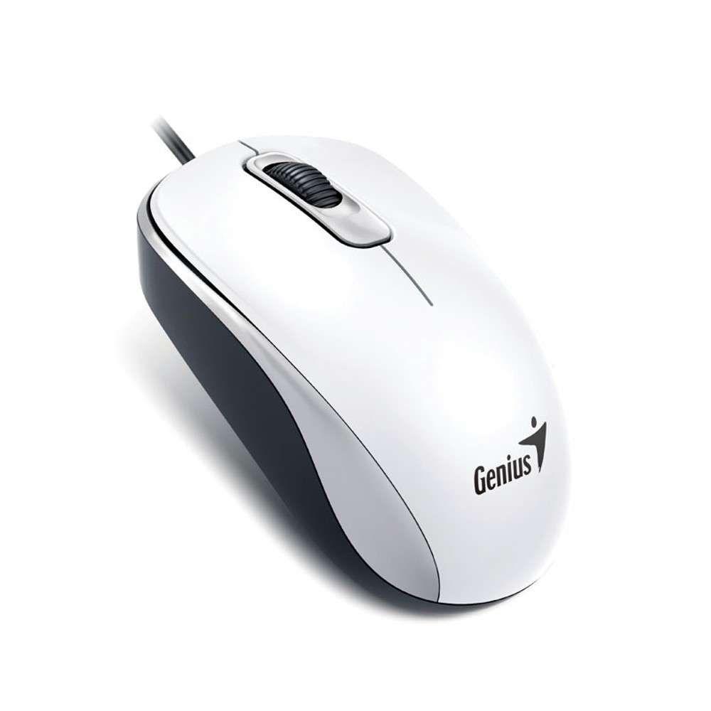 Mouse USB Genius DX-110 G5 Branco