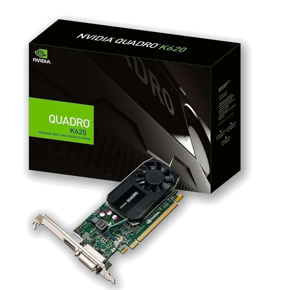 Placa de Vídeo PNY GeForce Quadro 2GB DDR3 128 Bits - VCQK620-PORPB
