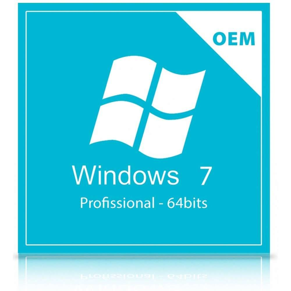 Microsoft Windows 7 Professional 64Bits Braz OEM
