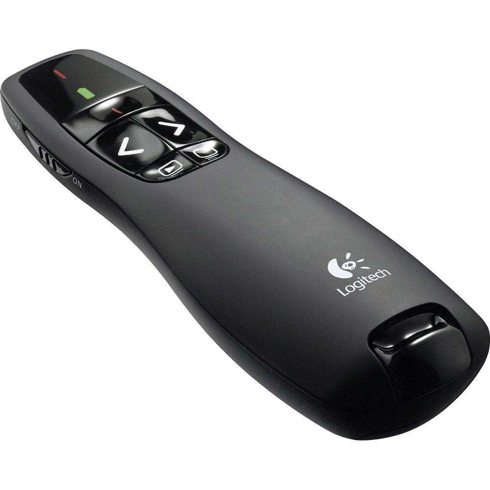 Apresentador Logitech Wireless Presenter R400 910-001354