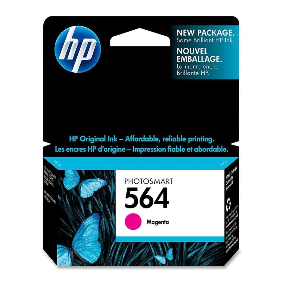 Cartucho de Tinta HP 564 CB319WL Magenta 4 ml