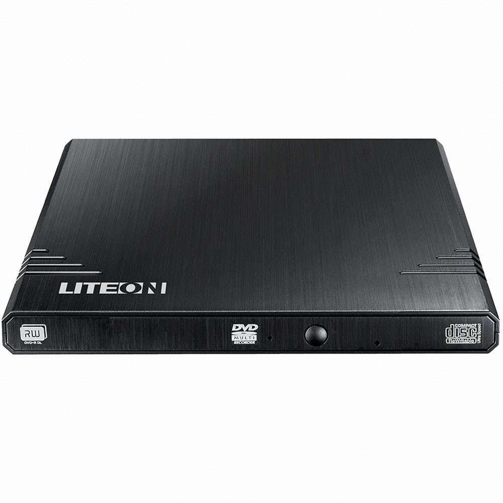 Gravador de DVD Liteon Externo 8x Slim Writer EBAU108-01 Pto