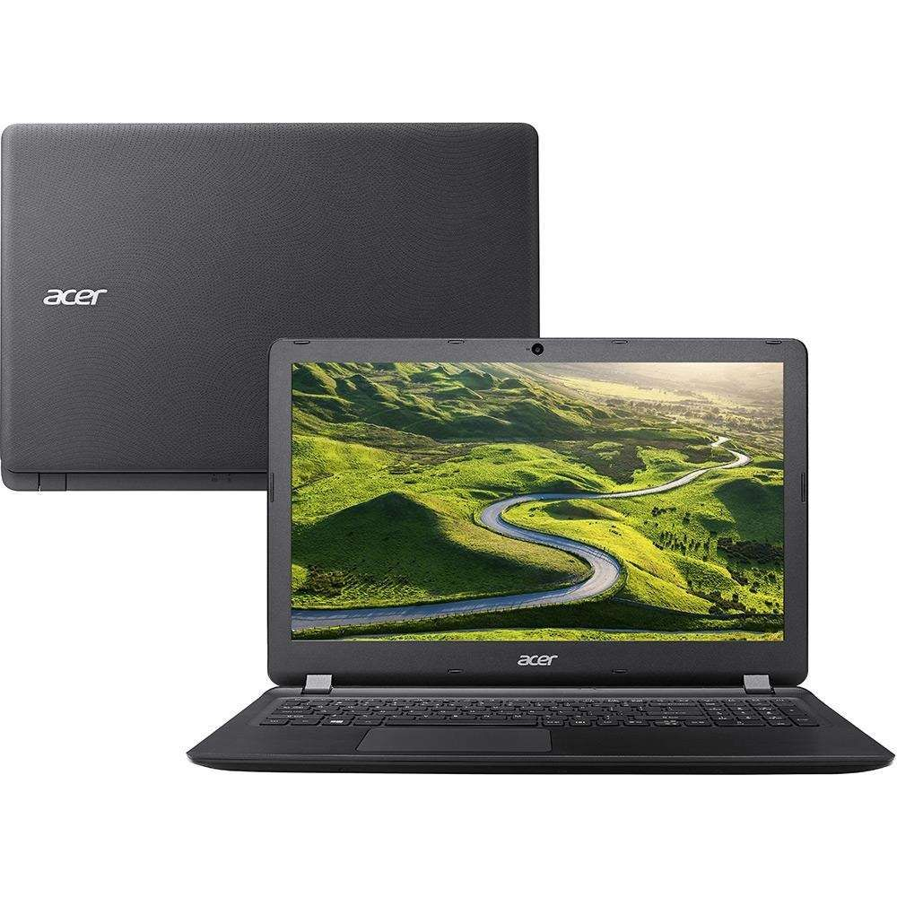 Notebook Acer Aspire E5-572-323F  Intel Core i3-6100U, 4GB, HD 500GB, Tela LED 15.6