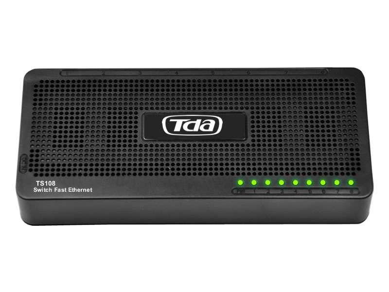 Switch 8 Portas Fast Ethernet Tda 10/100 Mini Ns800