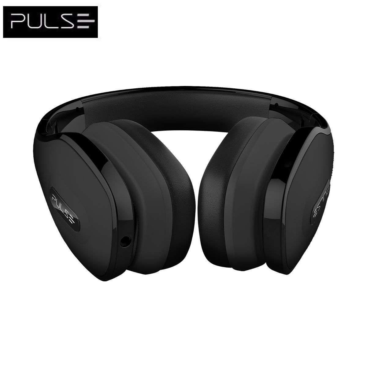 Headphone Multilaser com Microfone Pulse Over Ear Hands Free PH147 Preto