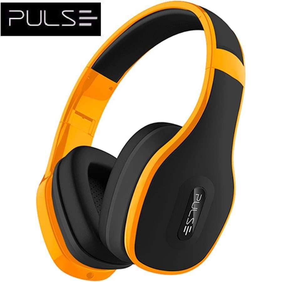 Headphone Multilaser com Microfone Pulse Over Ear Hands Free PH148 Amarelo