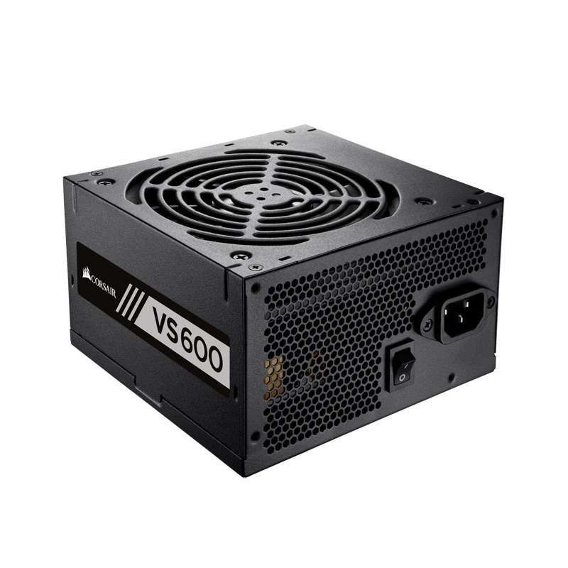 Fonte Corsair 600W 80Plus White VS600 Bivolt Automatico - CP-9020119-LA