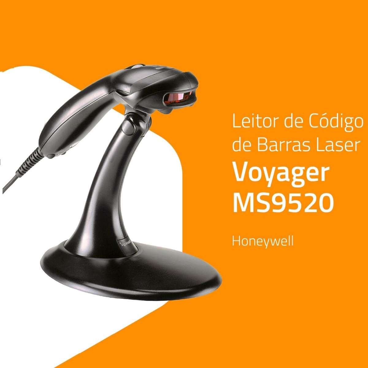 Leitor Honeywell Laser Voyager USB c/Sup.MK9520-32A38-Z