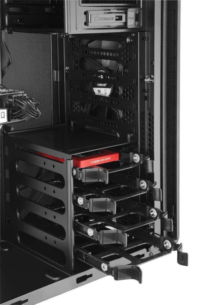 Gabinete Gamer Corsair Carbide 330R Titanium Ed. CC-9011071