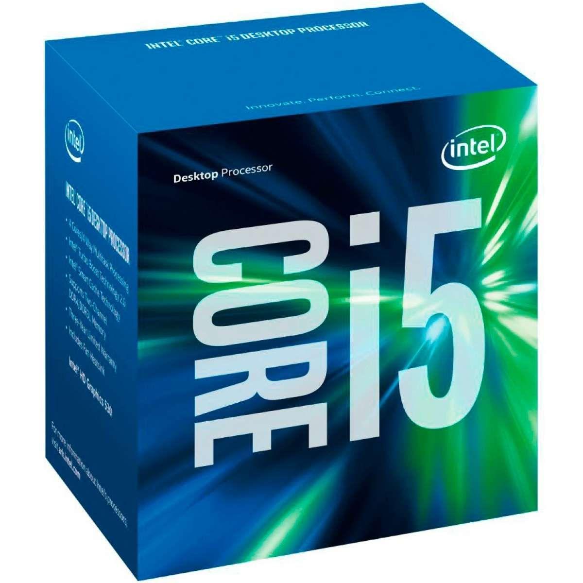 Processador Intel Core i5-7400 Kaby Lake 7Ger. 3.0Ghz, 6MB, LGA 1151 - BX80677I57400