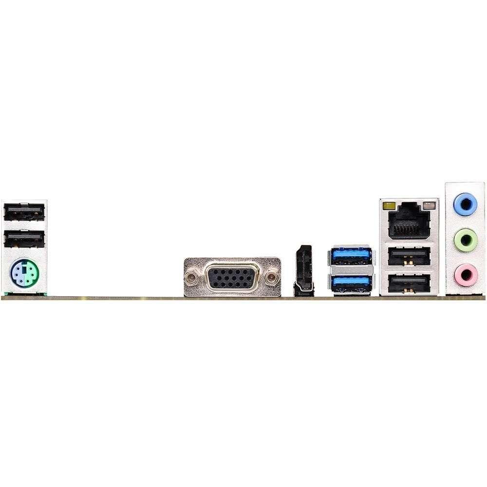Placa Mãe ASRock para Intel LGA 1151 mATX H110M-HG4 DDR4, HDMI , SATA 6Gb/s ,USB 3.0