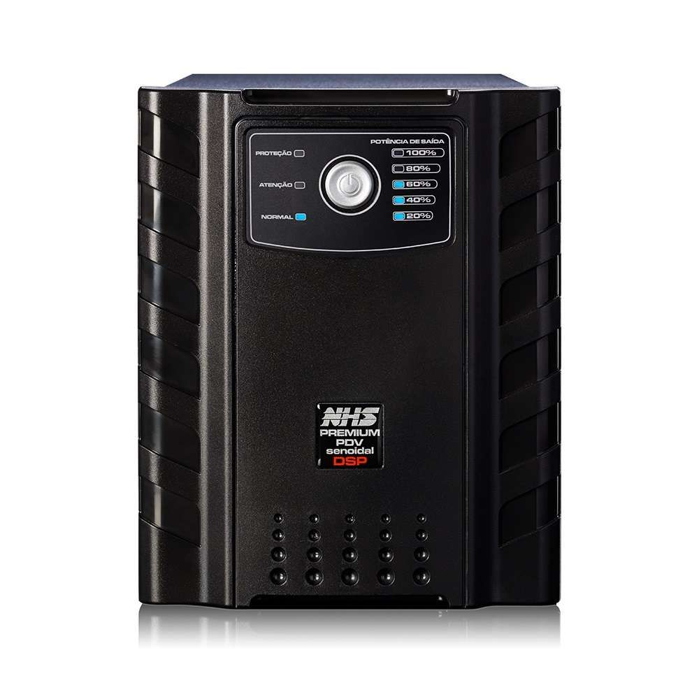 Nobreak NHS Premium PDV Senoidal GII 1400VA (C/2 Baterias 17Ah e USB)