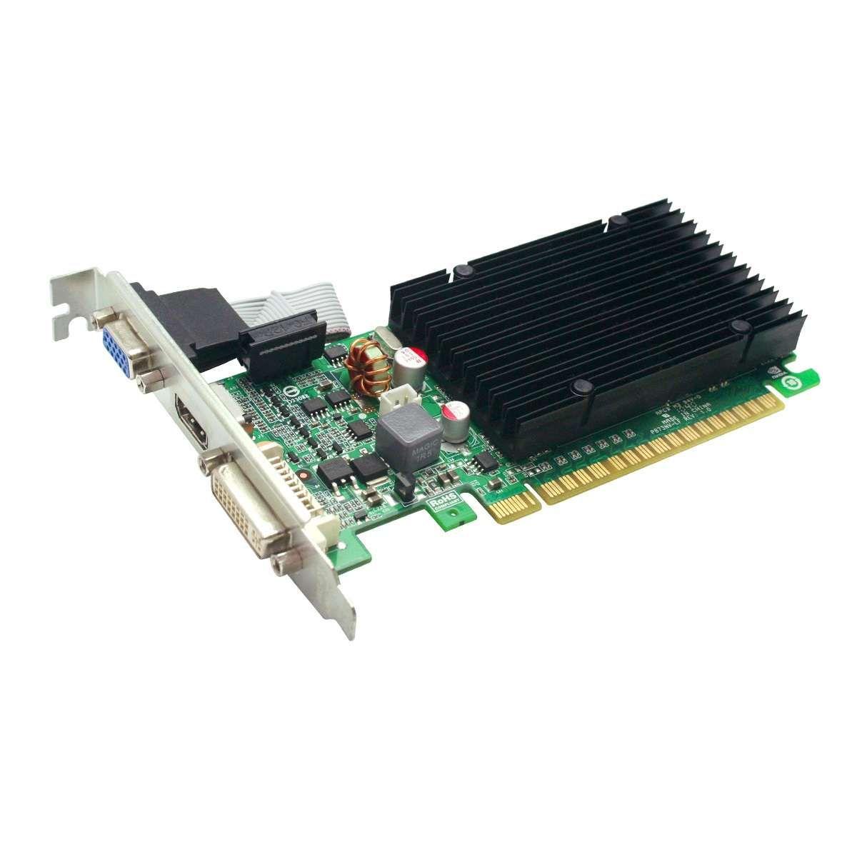 Placa de Vídeo EVGA GeForce 8400GS 1GB DDR3 64 Bits - 01G-P3-1303-KR