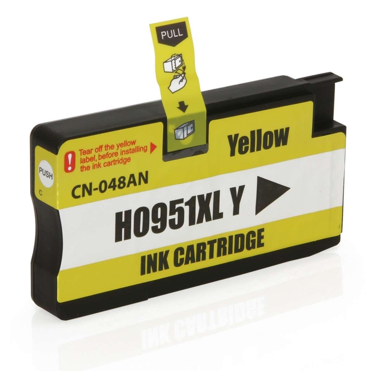 Cartucho de Tinta Compativel HP 951XL CN048AB Amarelo 26ml