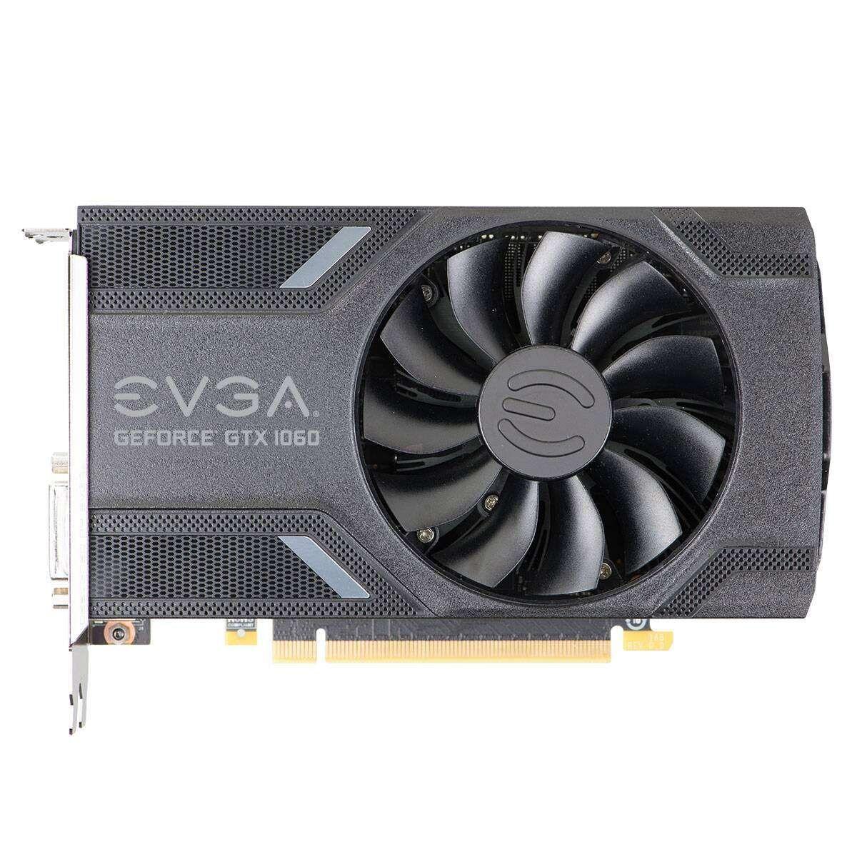 Placa de Vídeo eVGA GeForce GTX 1060 Garming 3GB DDR5 192 Bits - 03G-P4-6160-KR