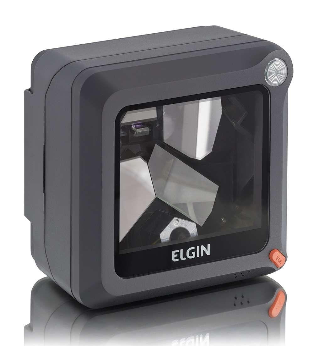 Leitor de Codigo de Barras Laser Elgin El-4200 USB Preto Fix