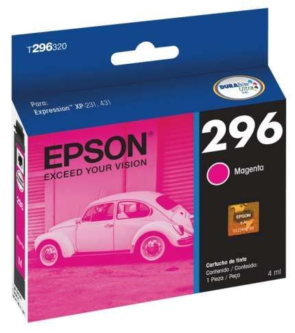 Cartucho de Tinta Epson T296320-BR Magenta 4ml