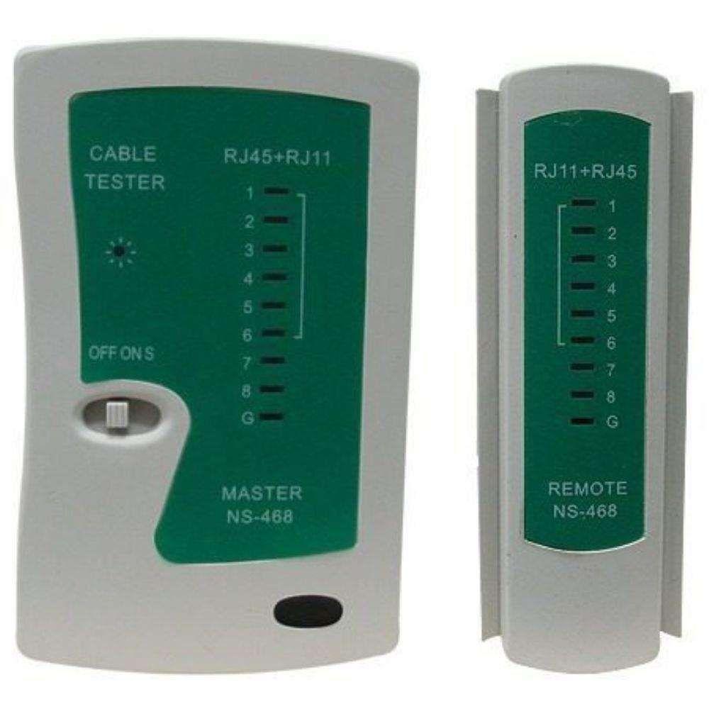 Testador Digital De Cabos De Rede (Rj-11/45) Ref:RJ-468