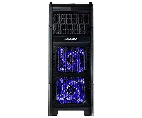 Gabinete Gamemax Gamer G506 Preto Com Led Azul.
