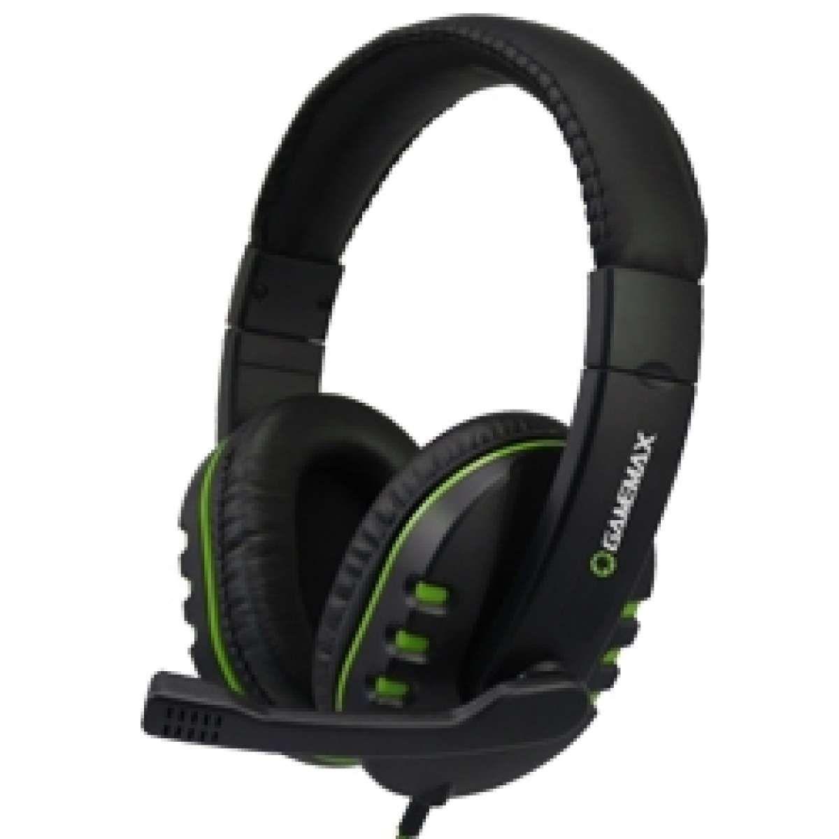 Headset Gamer Gamemax Hero HG333 Preto/Verde