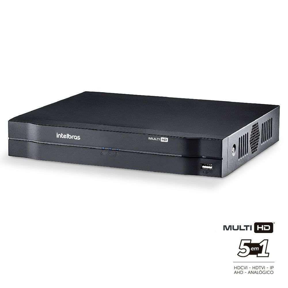 Gravador DVR 16 Canais Intelbras MHDX 1016 G3 Hdcvi, Ahd, Hdtvi, Analógica e Ip