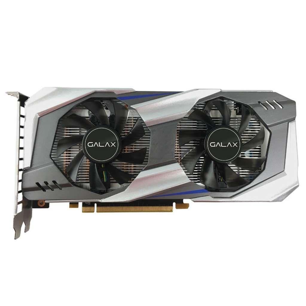 Placa de Vídeo NVIDIA Galax GTX 1060 OC Entusiasta 6GB DDR5 192Bits - 60NRH7DSL9OC