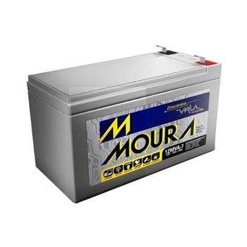 Bateria Moura 12V 7AH 12MVA7 - Desconto na Troca