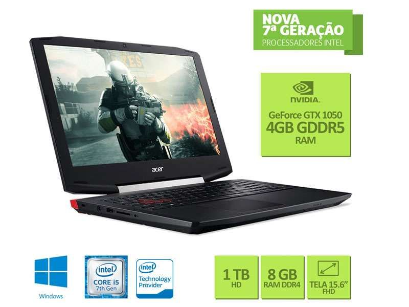 Notebook Acer Game VX5-591G-54PG Intel Core i5-7300HQ,8GB,1TB,15.6